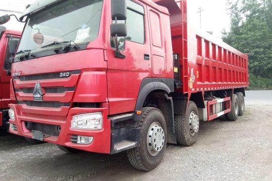 重汽豪沃(HOWO)中国重汽 HOWO重卡 340马力 8X4 8.2米自卸车(ZZ3317N4667D1)20171020877796316577529856