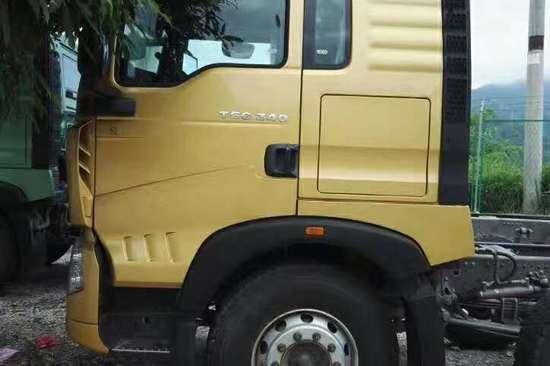重汽豪沃(HOWO)中国重汽 HOWO T5G重卡 340马力 8X4 9.5米载货车(ZZ1317N466GD1)20171020894811202763358208