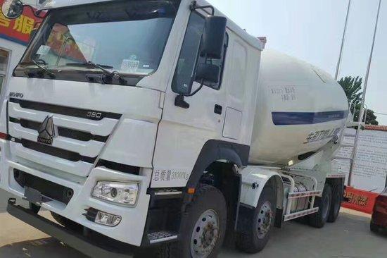 重汽豪沃(HOWO)中国重汽 HOWO重卡 380马力 8X4混凝土搅拌车底盘(ZZ1317N3667E1)20171020895460145385963520