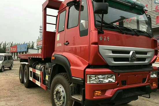 重汽斯太尔中国重汽 斯太尔 金王子重卡 340马力 6X4 5.4米自卸车(新型渣土车)(ZZ3251N3641D1)20180324918297404799713280