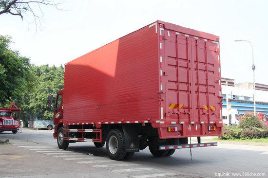 东风柳汽东风柳汽 乘龙M3中卡 180马力 4X2 6.8米排半仓栅式载货车(LZ5166CCYM3AB)20180224929231178819436544